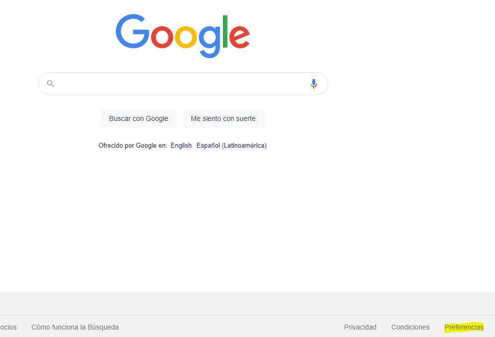 bloquear paginas web Chrome
