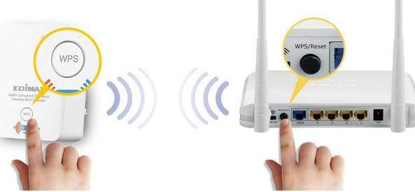boton WPS wifi movistar