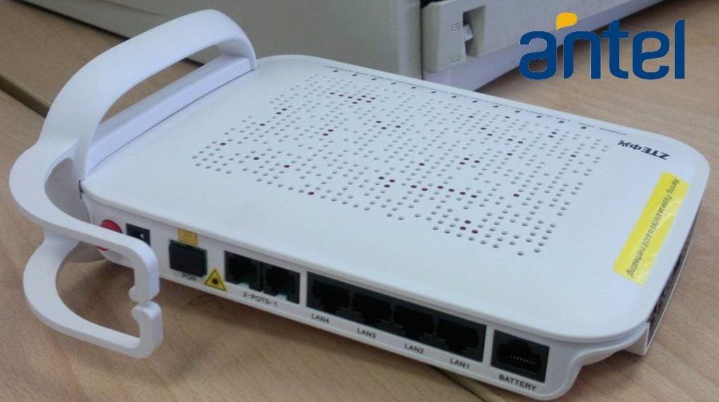192.168.o.1.1 cambiar contraseña wifi antel
